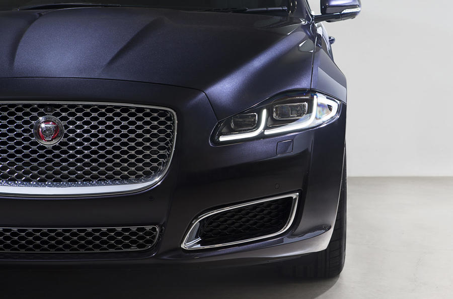 Jaguar XJ LWB LED headlights