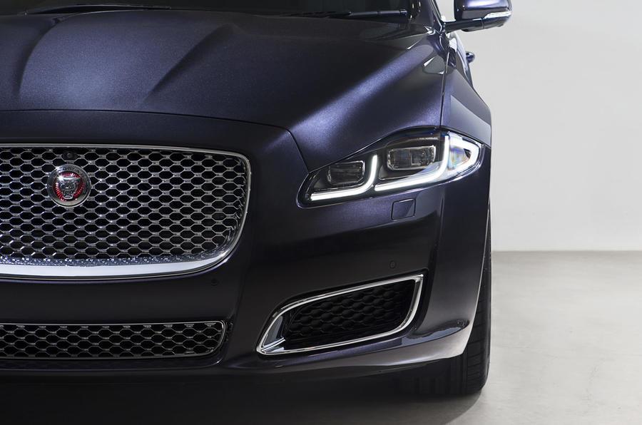 Jaguar XJ LWB LED headlights