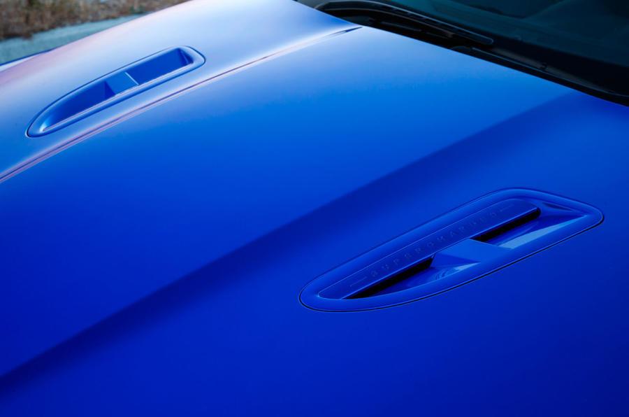 Jaguar XJR 575 bonnet louvres