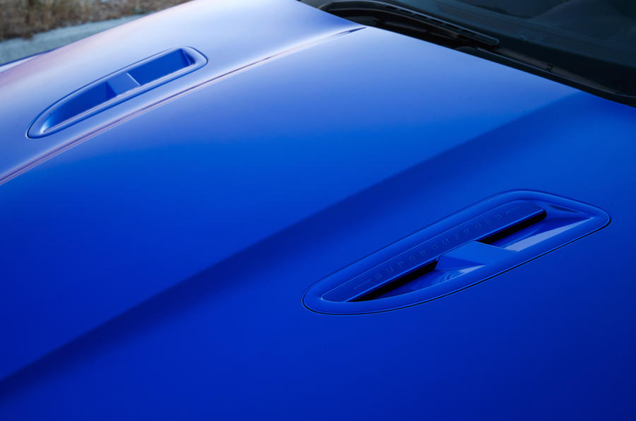 Jaguar XJR 575 bonnet scoops