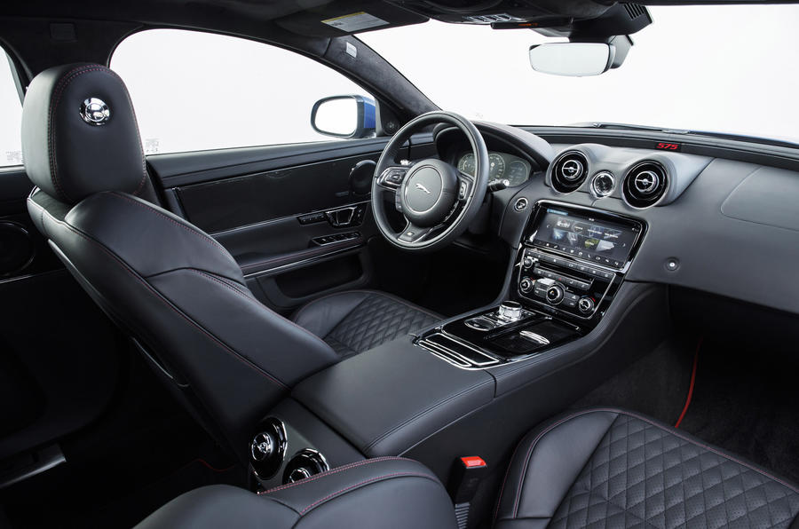 Jaguar XJR 575 interior