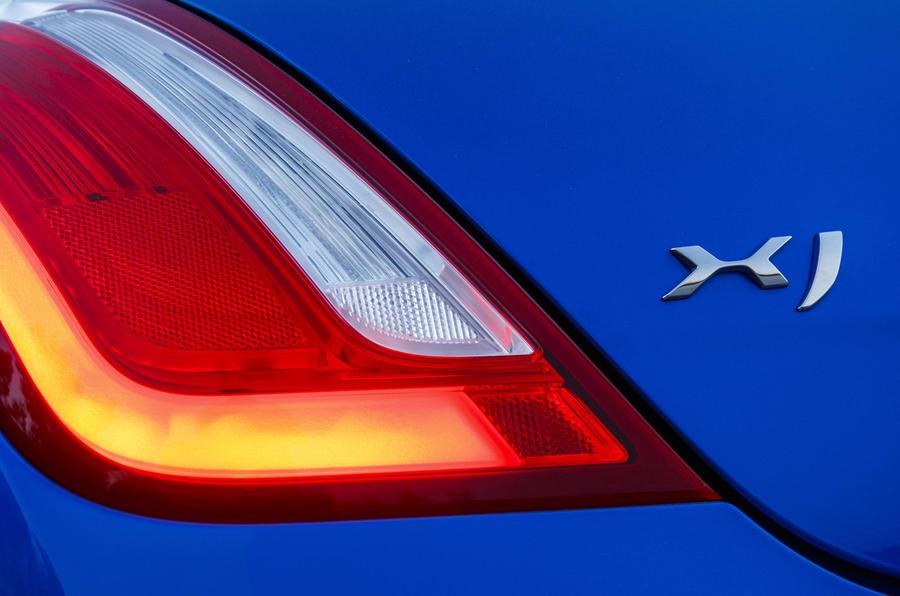Jaguar XJR 575 rear light