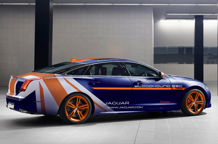 Land Speed Record >> Jaguar XJR Rapid Response Vehicle to assist Bloodhound record attempt | Autocar