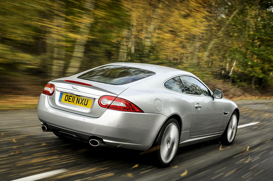 Jaguar XK rear