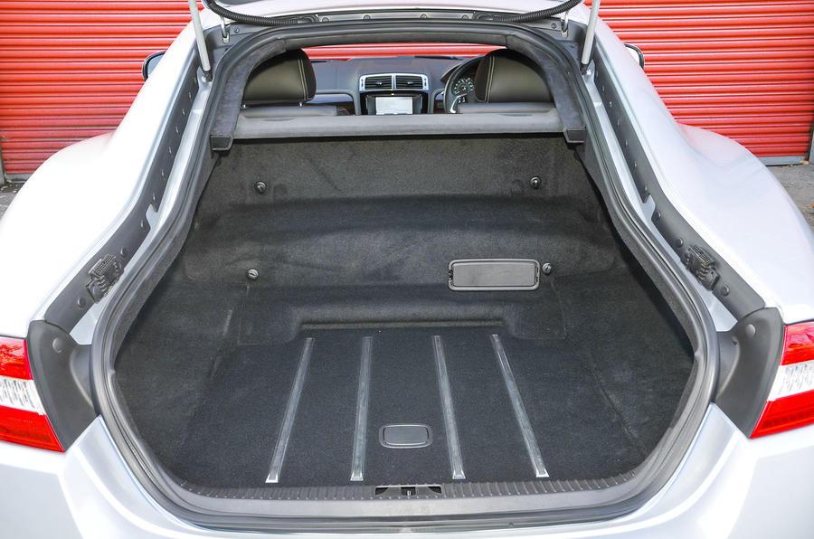 Jaguar XK boot space