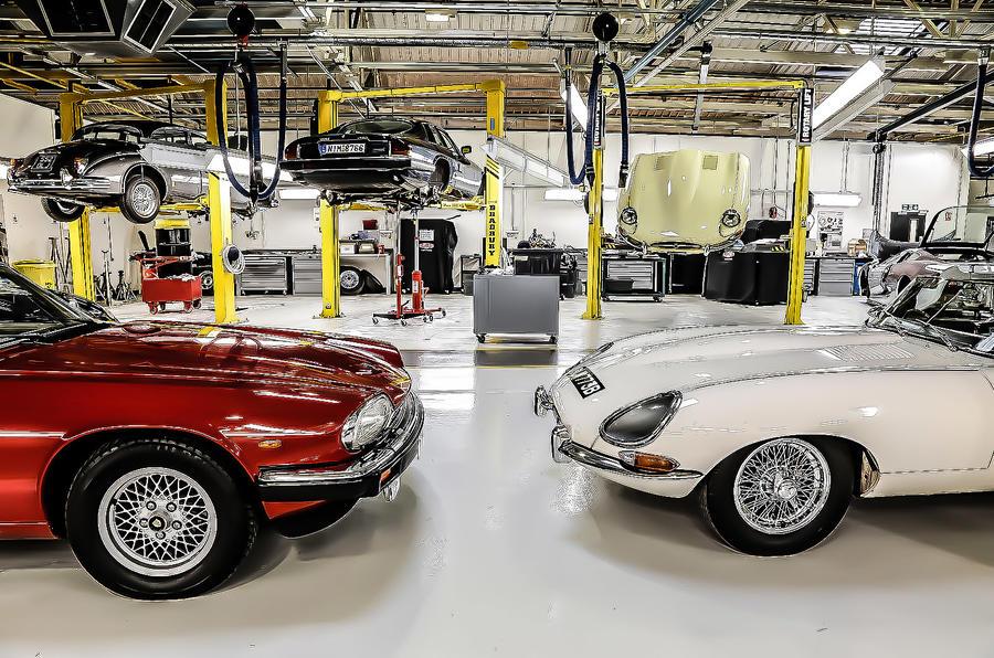 Jaguar workshop
