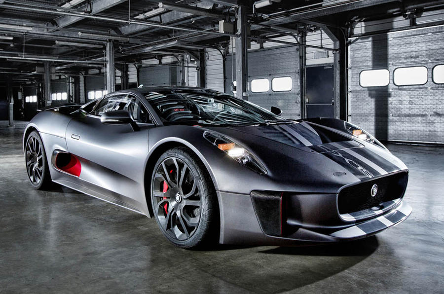 Jaguar C X75 To Star In Upcoming James Bond Film Spectre As Villain S Car