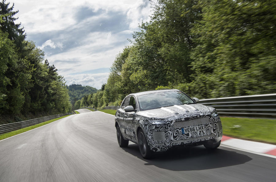 Extreme weather testing for new Jaguar E-Pace
