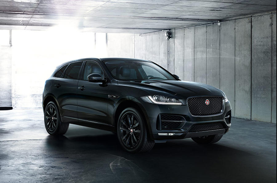 Jaguar launches Black Edition models with boosted kit