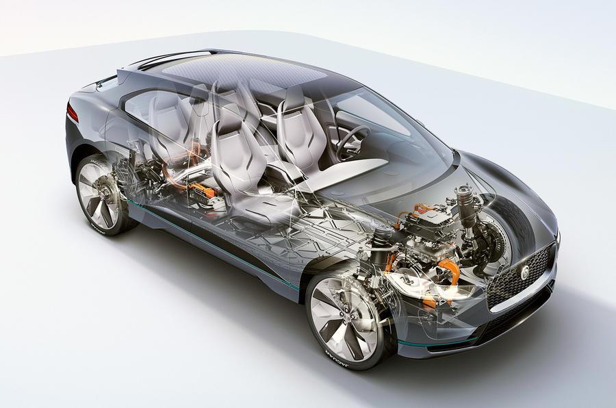 Jaguar I-Pace diagram
