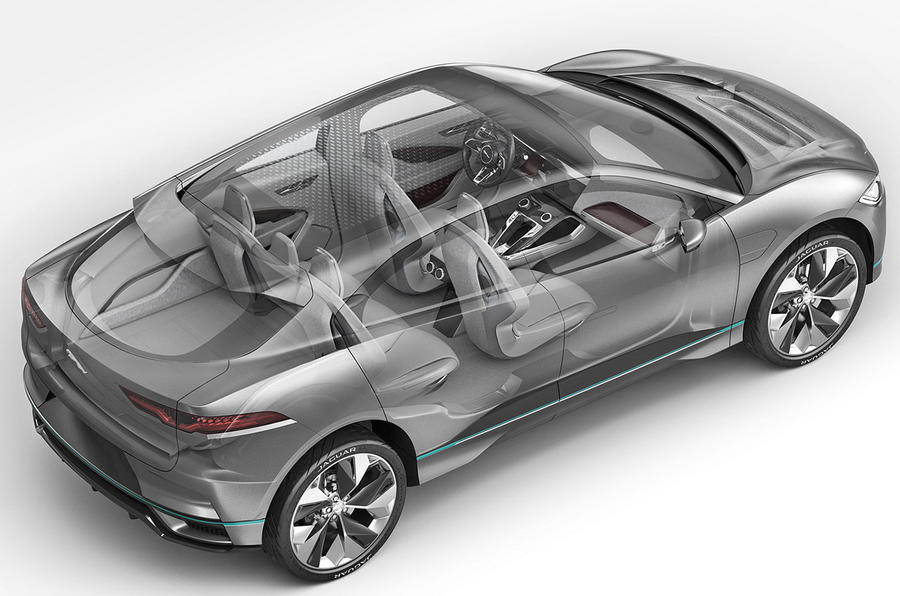 2018 jaguar concept. interesting jaguar 2018 jaguar ipace electric suv revealed for jaguar concept