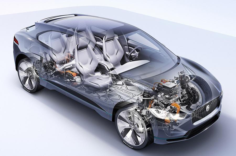 2018 jaguar hybrid. plain jaguar 2018 jaguar ipace electric suv revealed with jaguar hybrid
