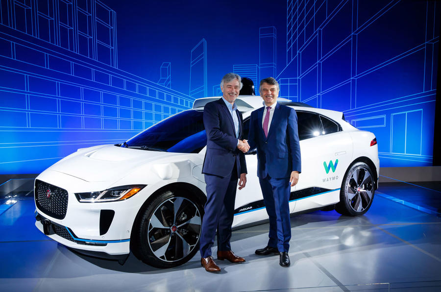 Autonomous Jaguar I-Pace cars to hit roads as part of Google deal
