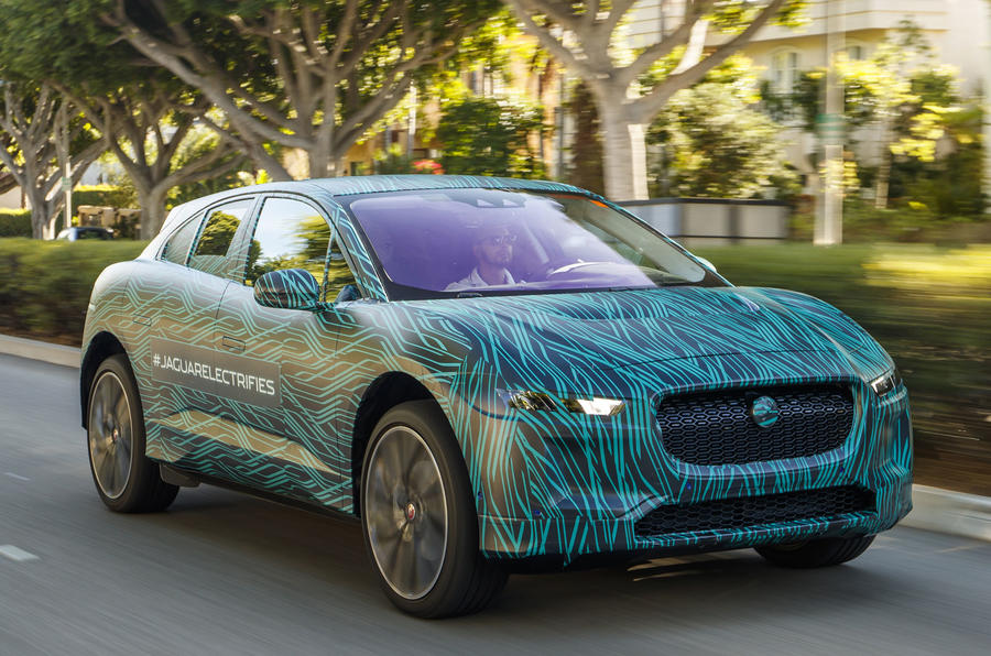 Jaguar I-Pace on course for March 2018 launch
