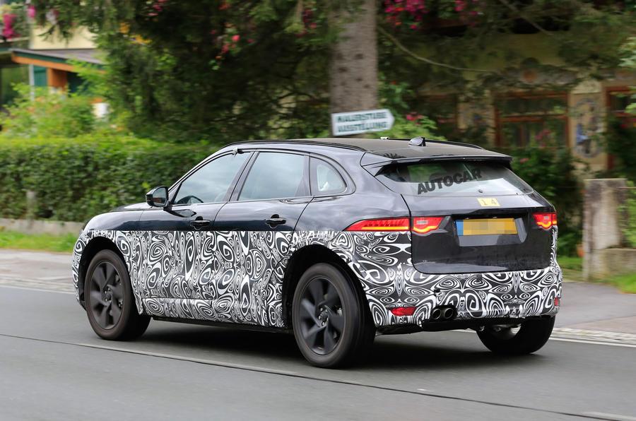 Jaguar F Pace Exterior >> Jaguar I-Pace electric SUV mule spotted testing again | Autocar