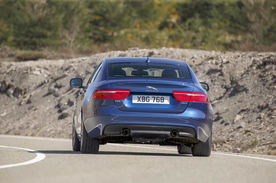 2015 Jaguar Xe 2 0i 240ps Portfolio Review Review Autocar
