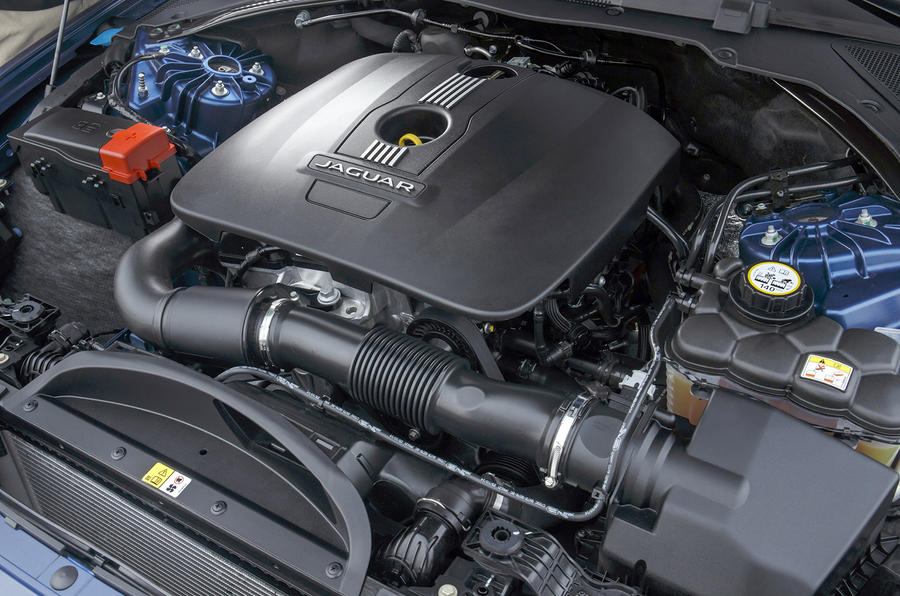2.0-litre Jaguar XE petrol engine