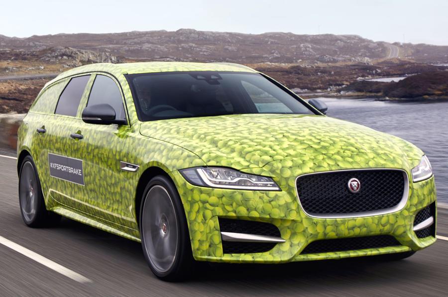 Jaguar XF Sportbrake: fresh teaser pictures arrive
