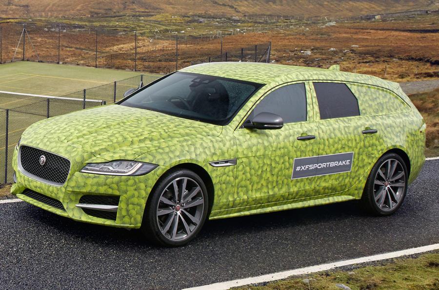 Fresh teaser pictures arrive — Jaguar XF Sportbrake