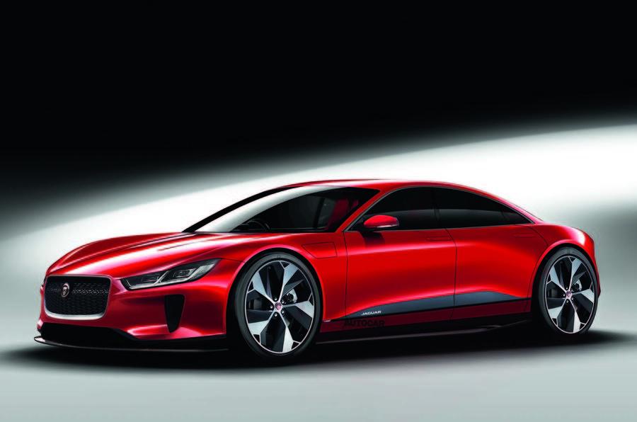 Jaguar XJ 2020 render