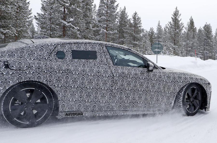 2020 Jaguar XJ prototype - side