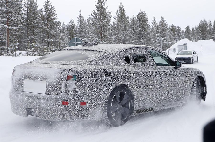 2020 Jaguar XJ prototype - rear