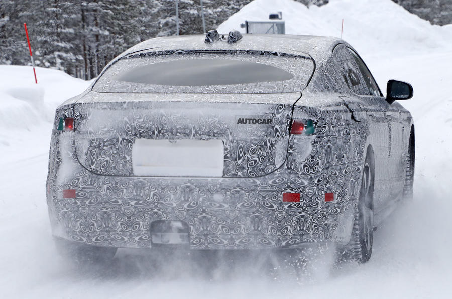 2020 jaguar xj: latest images reveal electric luxury car's