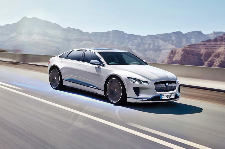 Jaguar XJ render by Autocar