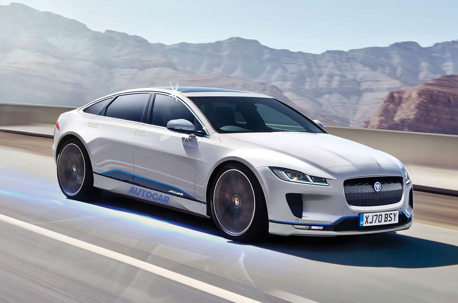 Electric Jaguar XJ