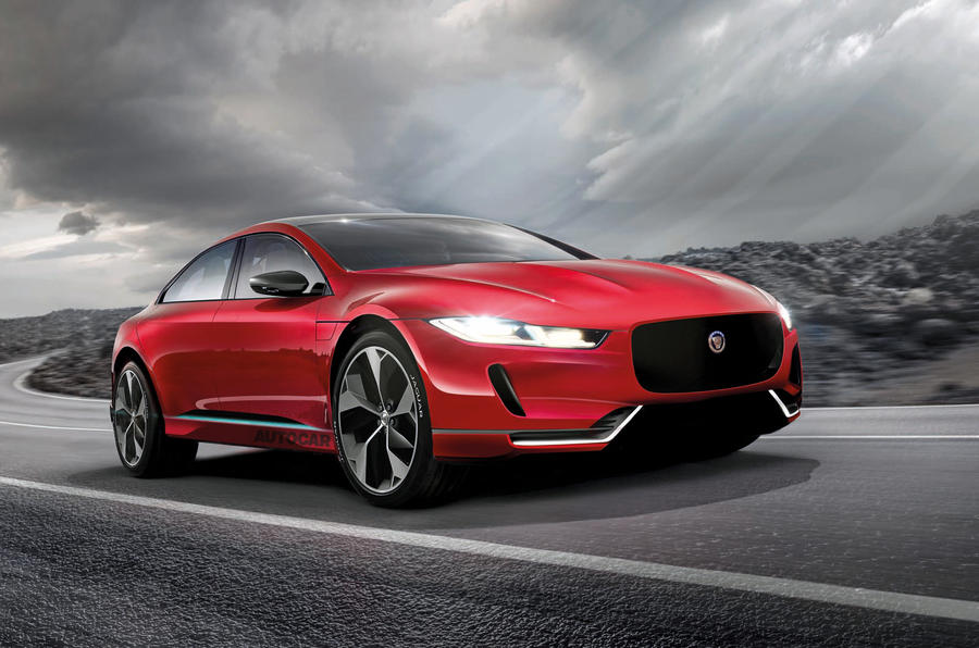 Jaguar XJ imagined by Autocar