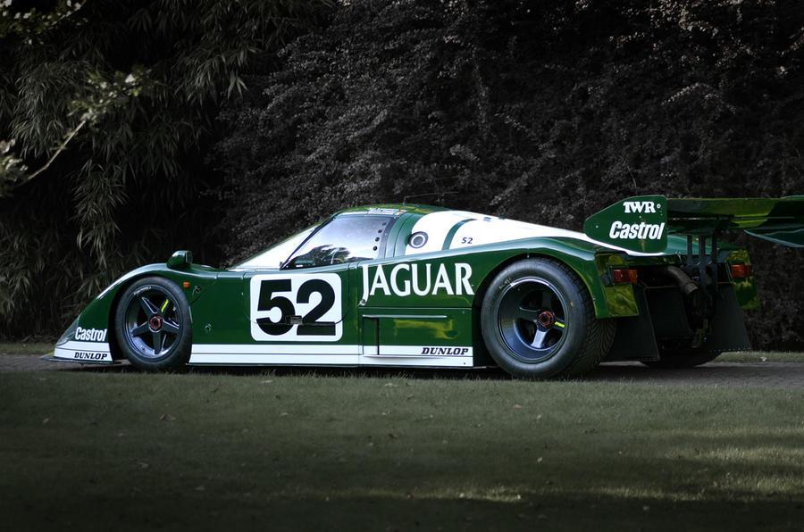Hexagon Le Mans charity event cars