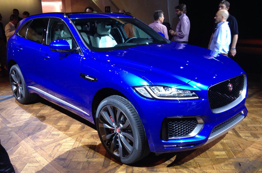 2016 Jaguar F-Pace revealed - full pictures and details | Autocar
