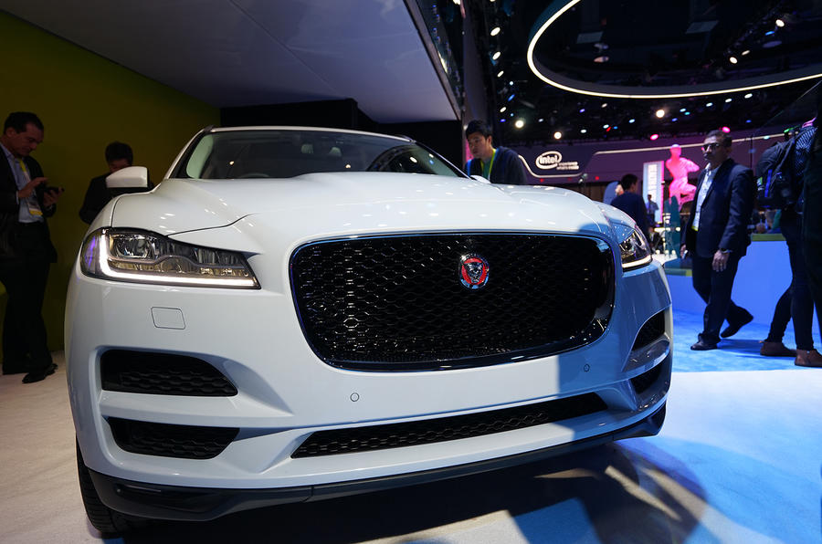 Jaguar F-Pace connected car