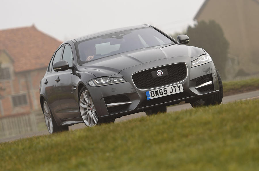 2016 jaguar xf 180 awd r sport review review autocar. Black Bedroom Furniture Sets. Home Design Ideas