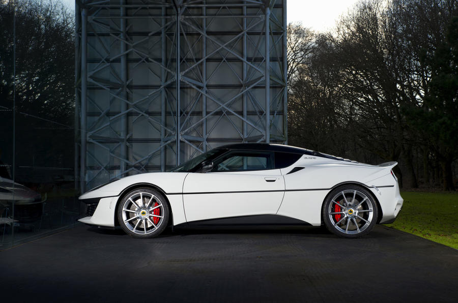 One-off Lotus Evora Sport 410 revealed
