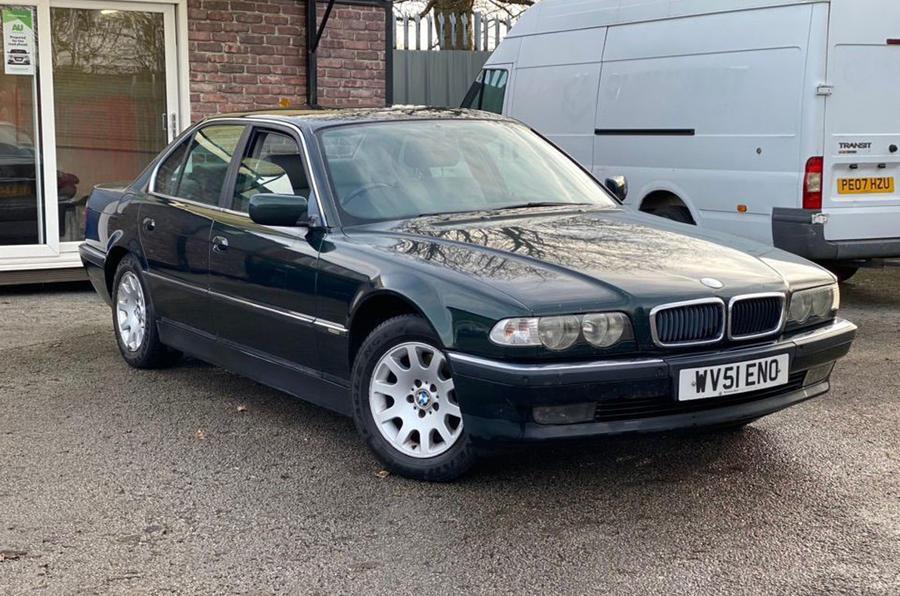 Auction watch BMW 7