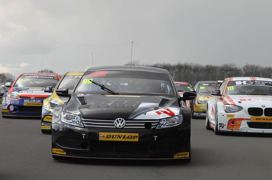 Jason Plato sets early British Touring Car Championship pace | Autocar