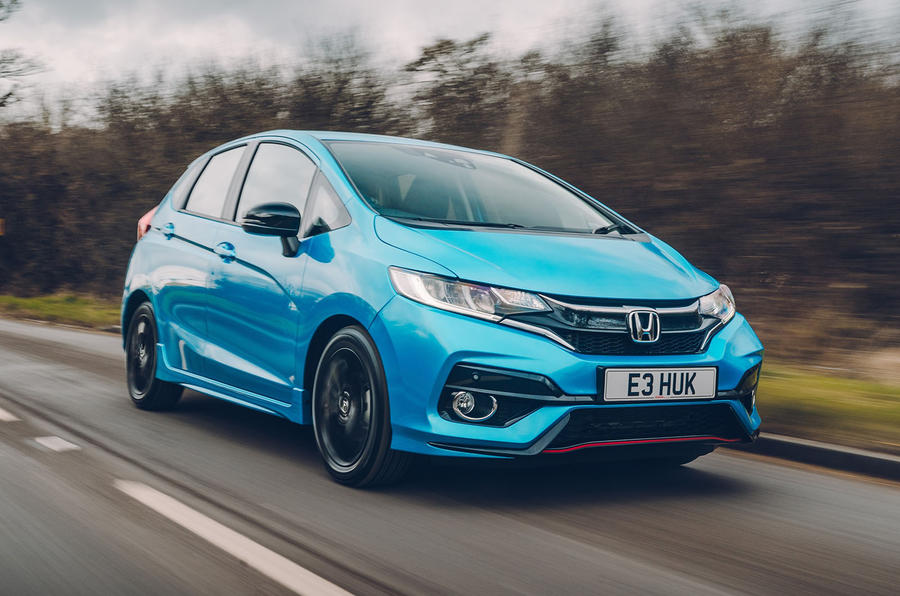 honda jazz 1 5 i vtec sport 2018 uk review autocar. Black Bedroom Furniture Sets. Home Design Ideas