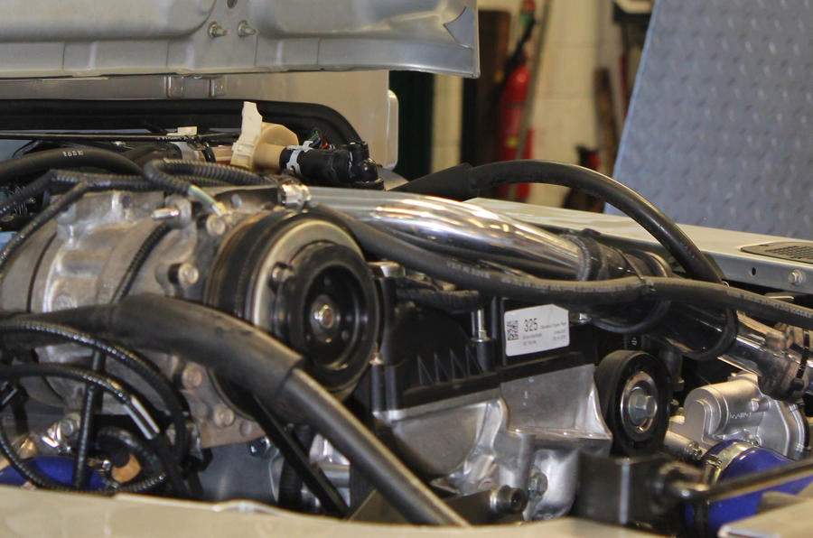 JE Motorworks converts Land Rover Defender to Ford Ecoboost power