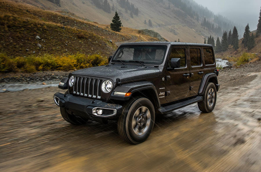 2019 jeep wrangler arrives in autumn with 2 2 litre diesel and 2 0 petrol for europe autocar. Black Bedroom Furniture Sets. Home Design Ideas