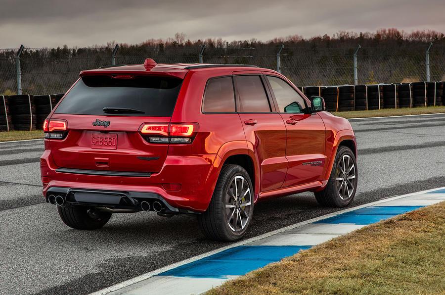 Jeep Grand Cherokee Trackhawk is world's quickest SUV