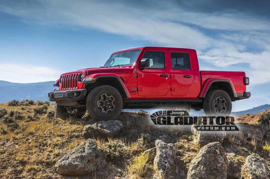 New Jeep Gladiator pick-up leaked ahead of LA show debut ...
