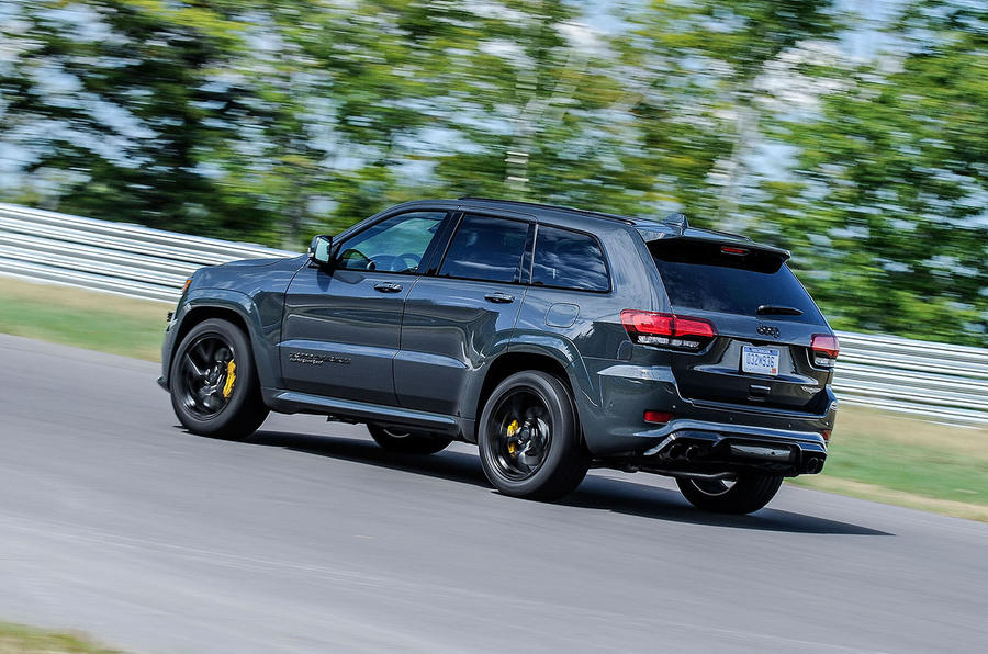 Jeep Grand Cherokee Trackhawk rear end