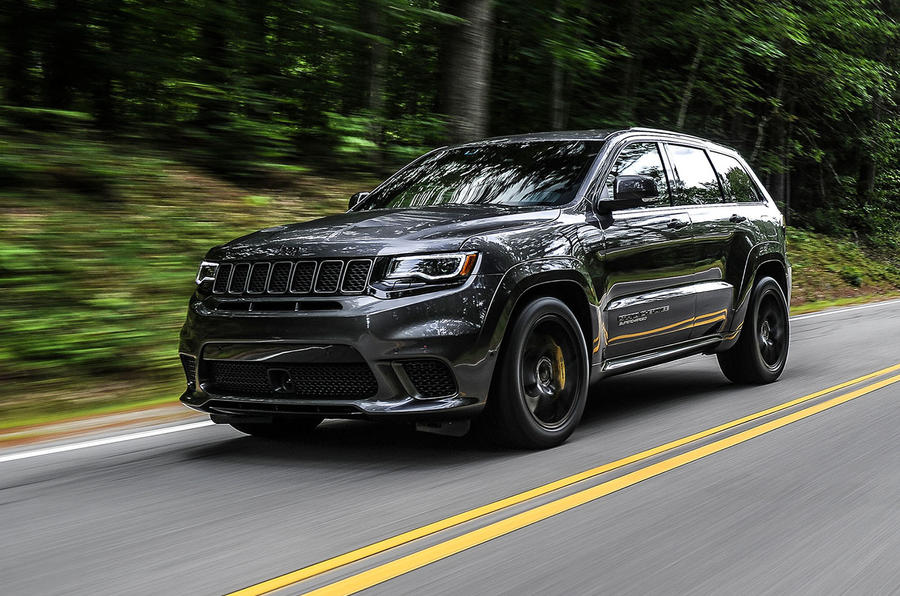 2018 jeep grand cherokee srt trackhawk first drive review autos post. Black Bedroom Furniture Sets. Home Design Ideas
