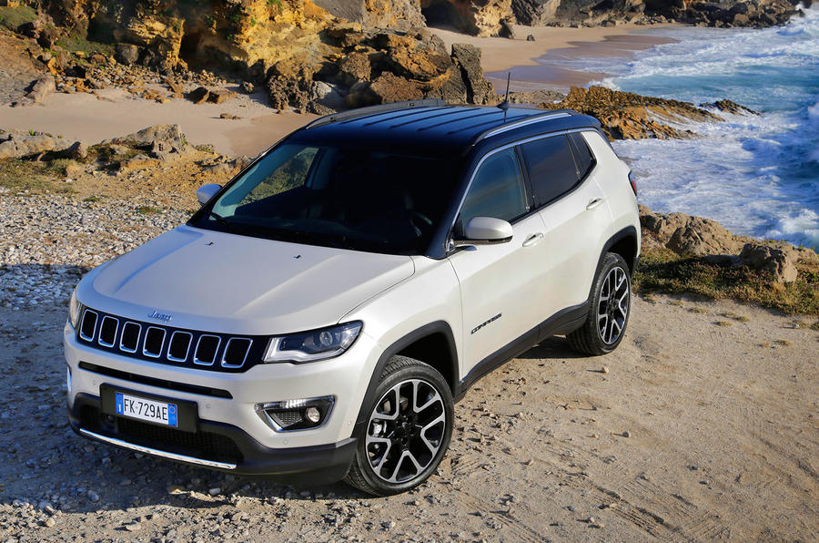 jeep compass multijet 140 limited 2017 review autocar. Black Bedroom Furniture Sets. Home Design Ideas