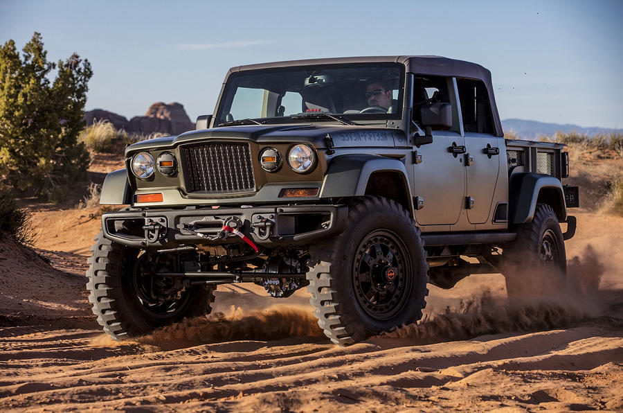 Jeep Brute Price >> 2018 Jeep Wrangler could get pick-up variant | Autocar
