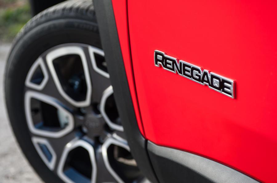 17in Jeep Renegade alloys
