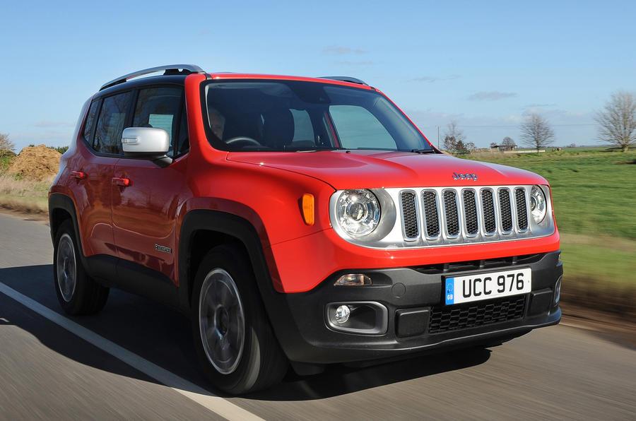 £22,895 Jeep Renegade Multijet II Limited