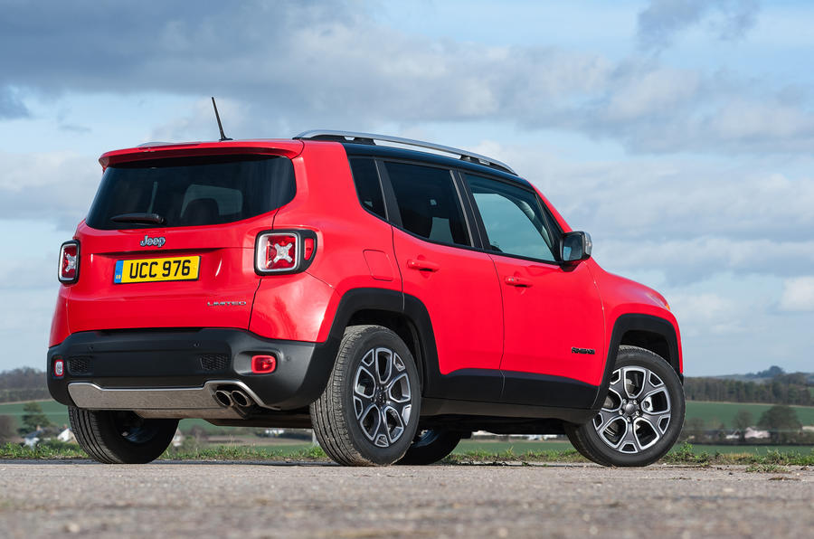 Jeep Renegade rear