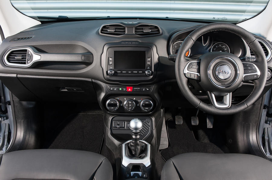Jeep Renegade dashboard
